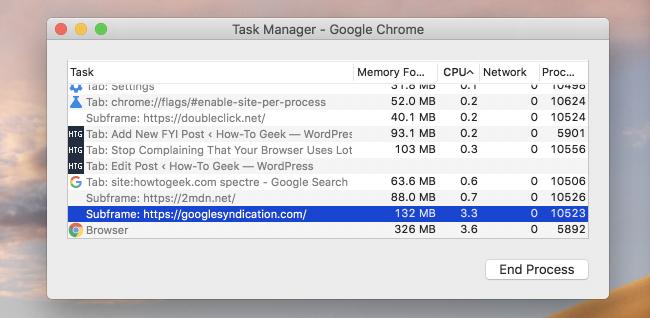 Google Chrome Will Start Using 10% More RAM Now, Thanks to Spectre 1